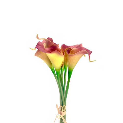 Real Touch Calla Lily bunch FW004-AMB