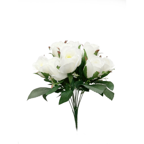 ROSE BUNCH-WHITE HF4385