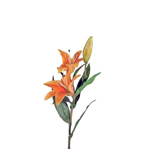 Tiger Lily Spray - Orange SM093-ORG