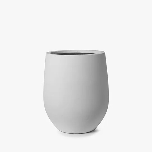 Large white Pot FI8201WH